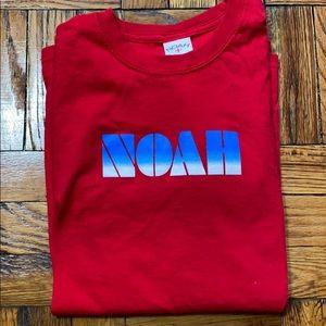 NOAH NYC red tee shirt size: S
